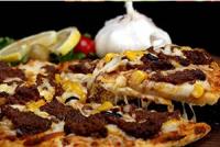 پیتزا سیر استیک